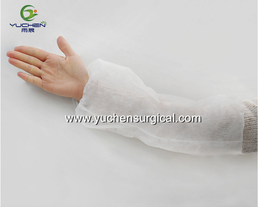 Disposable nonwoven medical sleeve cover/oversleeve