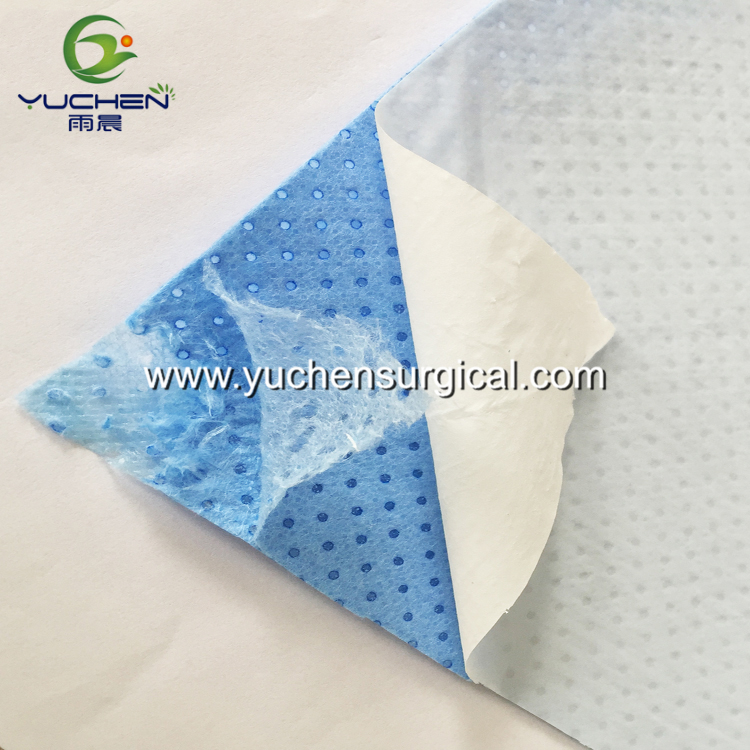 SMPE Laminated Meltblown Nonwoven Fabric Absorbent Material for Surgical Drape