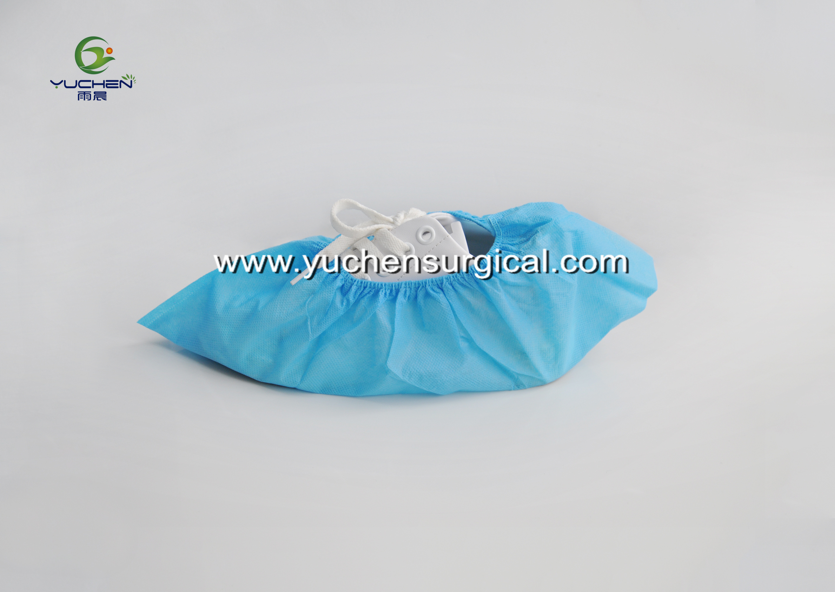 Disposable nonwoven shoe cover/overshoe