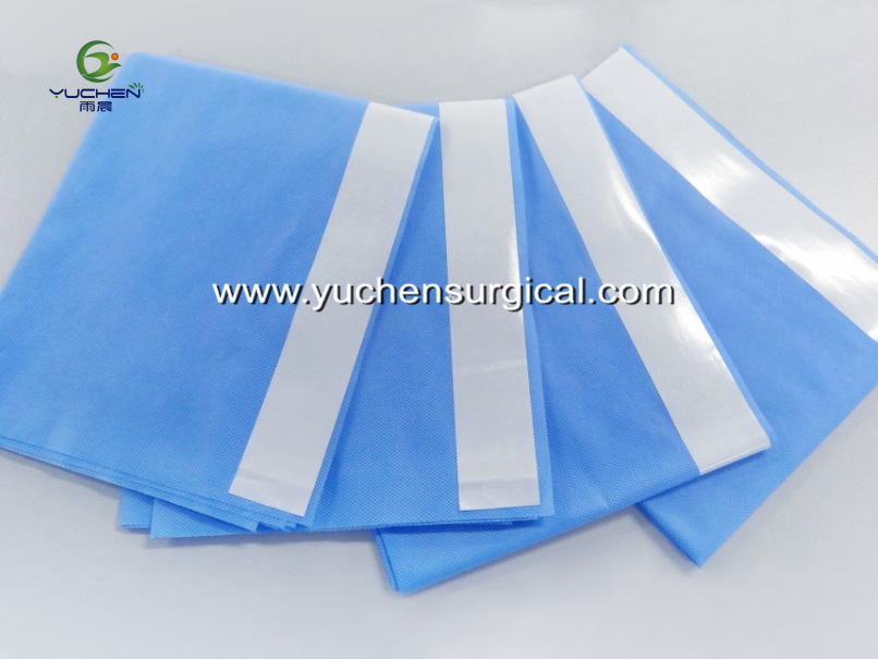 Sterile Surgical Drapes with adhesive tape